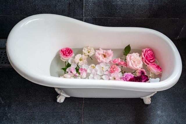 薔薇風呂、風水